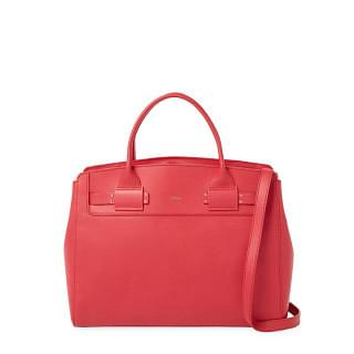 Furla Ruby Lucky L Leather Tote Bag