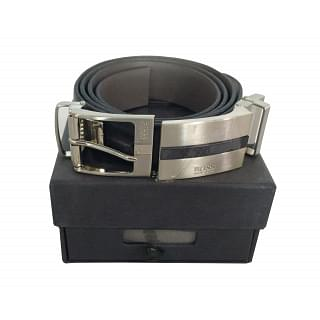 Hugo Boss Leather Belt With Two Buckle