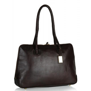 Hidesign Jaxon Chestnut Handbag