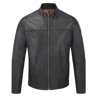 Boss Orange Men's Jips5 Leather Jacket