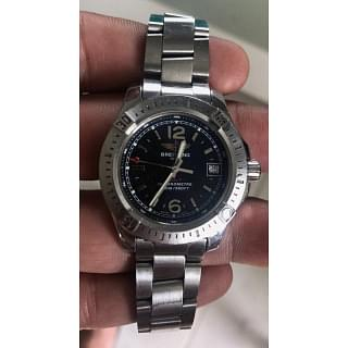 Breitling Colt Stainless Steel Silver Watch