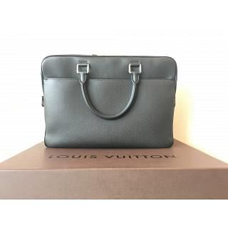 Louis Vuitton Overnight Taiga Leather Briefcase