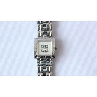 Givenchy Square Dial Metal Watch