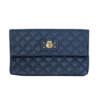 Marc Jacobs Large Eugenie Quilted Clutch