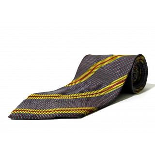 Giorgio Armani Blue & Yellow Stripe Tie