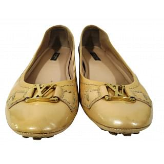 Louis Vuitton Patent Oxford Ballerina Flats