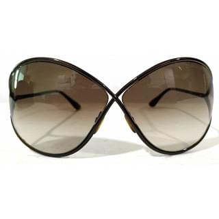 Tom Ford Metal Frame Gradient Tint Lilliana Sunglasses