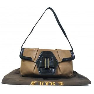 Tods Flap Clutch