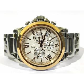 GC collection chronograph two tone mens Watch