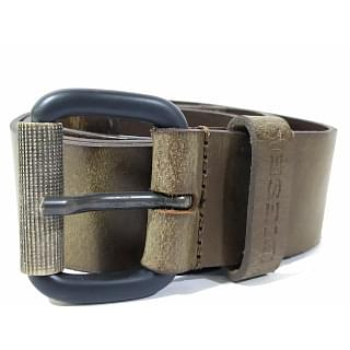 Diesel B-CAMUCUT X04666 Genuine Cow Leather Mens Belt