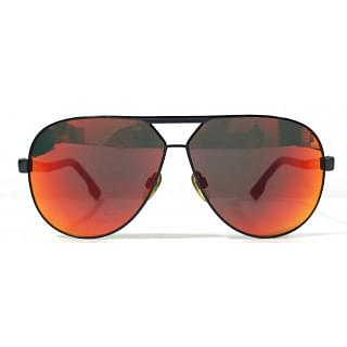 Diesel Aviator Black Unisex Sunglasses