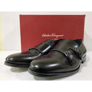 Salvatore Ferragamo Roland Double Monk Strap Shoes