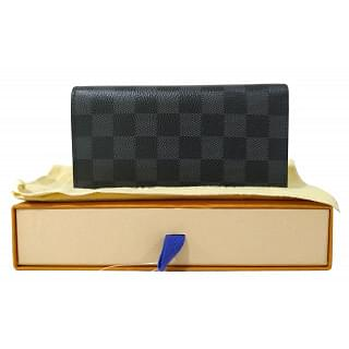 Louis Vuitton Damier Graphite Canvas Long Bifold Wallet