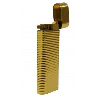 Les Must De Cartier Paris Gold Plated Cigarette Lighter