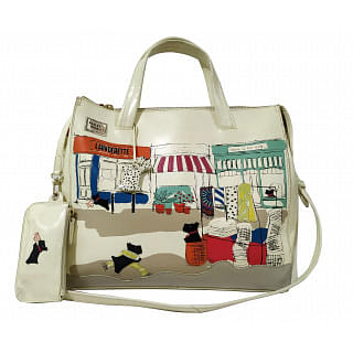 Radley Road Leather Picture Grab Tote