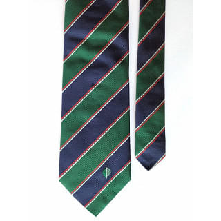 SIlvio Cattaneo Green Blue Tie