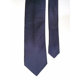 Navy Blue Made In Italy Tie