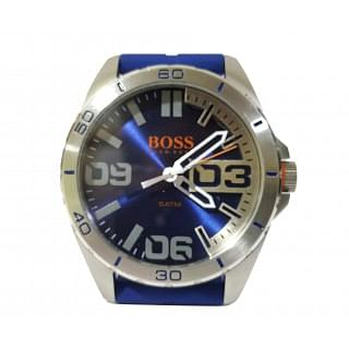Hugo Boss Orange Berlin Analog Display Quartz Blue Watch