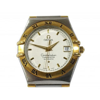 Omega Constellation Chronometer Automatic Watch Steel & 18K YELLOW GOLD+ 2 Year Service Warranty