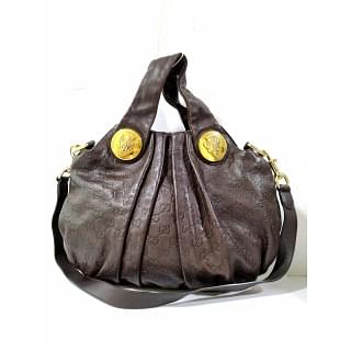 Gucci Hysteria Hobo Leather Shoulder Bag