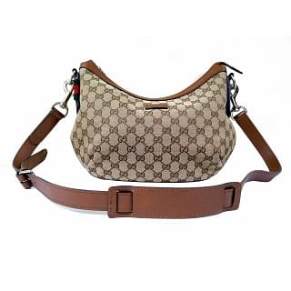 Gucci Monogram Medium Messenger Bag