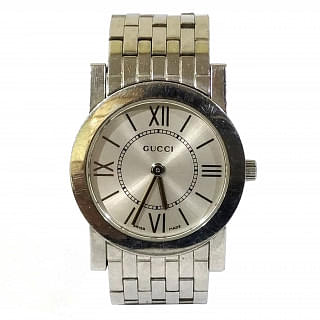 Gucci Silver L 5200 L.1 Stainless Steel Watch