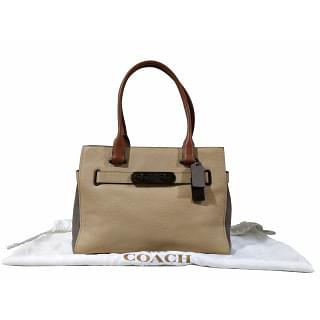 Coach Swagger Carryall Colorblock Bag