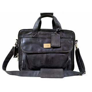 Lancel Leather Briefcase