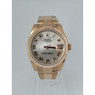 Rolex Lady Datejust 31 MOP 18k Gold