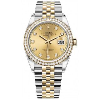 Rolex Datejust 36MM Gold & Steel