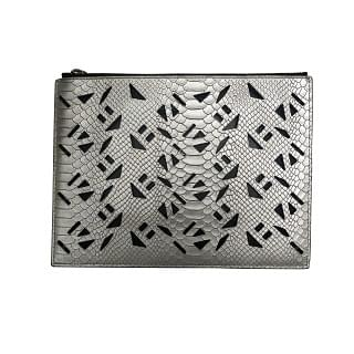 Kenzo Flying Perforated Clutch