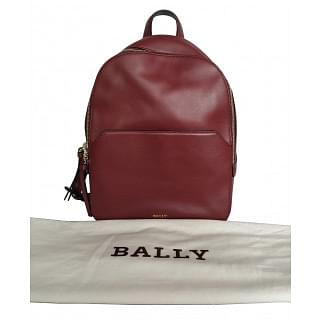 Bally Akira Leather Backpack