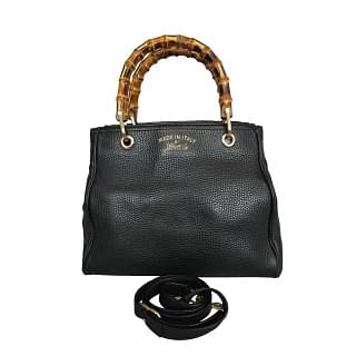 Gucci Bamboo Shopper Leather Tote