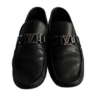 Louis Vuitton Black Loafers