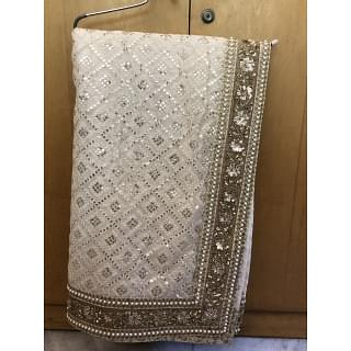 Sabyasachi Saree with Intricate Zardozi Work