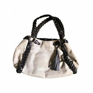 Bally Cream Hobo Bag