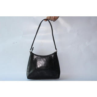 Liz Claiborne Black Leather Purse