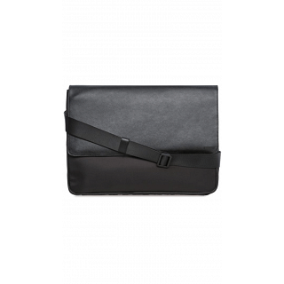 Calvin Klein 29750161-BLK Flap Over Messenger Bag for Men - Black
