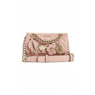 Guess Crossbody Bag for Women , Pink , VG677978