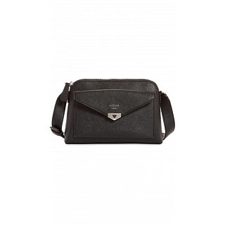 Guess Crossbody Bag for Women , Black , BK679214