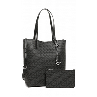 Michael Kors Handbags For Women , 027 BLK/GREY, 30F6SH3T3V