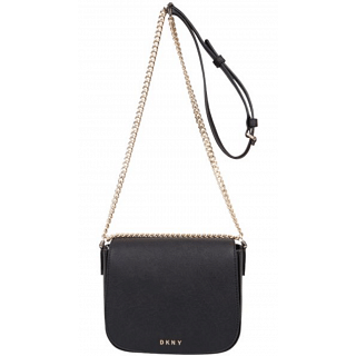 DKNY Leather Black Crossbody Bag For Women