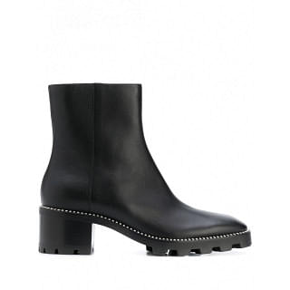 JIMMY CHOO MAVA LEANTHER ANKLE BOOTS