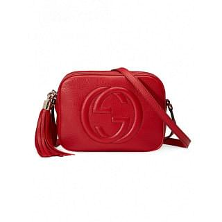 GUCCI SOHO SMALL LEATHER SHOULDER BAG - INTTSB840816130