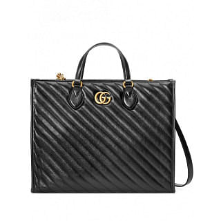 GUCCI GG MARMONT TOP-HANDLE TOTE BAG - INTTSB840868731