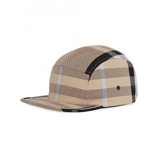 BURBERRY CHECKED COTTON CAP - INTTSB841159844