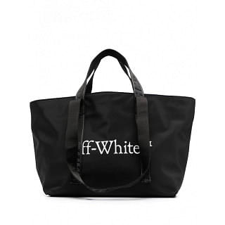 OFF-WHITE COTTON SMALL COMMERCIAL TOTE BAG - INTTSB842162520