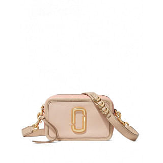 MARC JACOBS SOFTSHOT SMALL LEATHER CAMERA BAG - INTTSB842520669