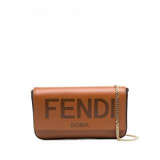 FENDI LEATHER WALLET ON CHAIN - INTTSB842590488