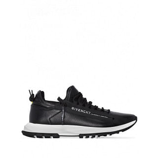 GIVENCHY SPECTRE RUNNER LEATHER SNEAKERS